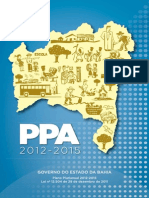 PPA Bahia 2012-2015