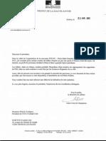 lettre préfet haute savoie