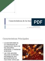 Características de la Asociatividad