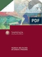04.Lettere Filosofia  La Sapienza University