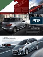 2012 Mazda 5 Brochure E
