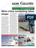 Platinum Gazette 18 October 2013