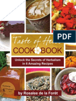 Taste of Herbs Cookbook