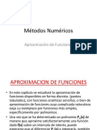 7 Aproximacion de Funciones