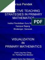 EFFECTIVE TEACHING STRATEGIES IN PRIMARY MATHEMATICS