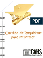 Cartilha Dos Requisitos Para Se Formar