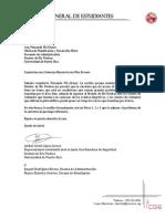 Carta Complejo Carretera