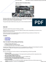 How to Disassemble Dell Precission M6500