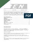 PEN Newsletter No. 22 - Apr 1989