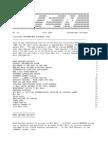 PEN Newsletter No. 29 - Jul 1990