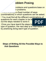 Problem Posing in Teaching Primary Mathemathis