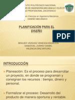 planeacion en el proceso de diseñoExposicion planeacion