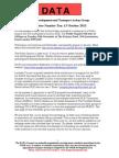 DATA Newsletter Number Ten Dated 30 September 2013 (1)
