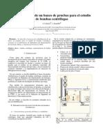rehabilitación de un banco de pruebas para el estudio de bombas centrífugas