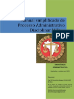 MANUAL SIMPLIFICADO - Sindicância - COM MODELOS