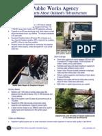 City of Oakland Public Works Fact Sheet