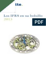 IFRS Bolsillo 2013. Publicado por Deloitte Chile.