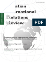 Croatian international relations review