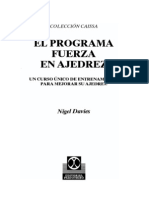 El programa de fuerza en ajedrez - Nigel Davies - 2002.pdf