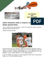 Líder Cruzeiro volta a vencer; veja resultados dessa quarta-feira