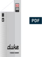 2005 Duke User Manual