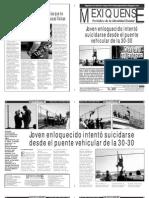 Versión impresa del periódico El mexiquense  17 octubre 2013