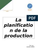 groupe n°14 - la planification de la production