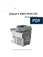 C450 Shortcut Manual