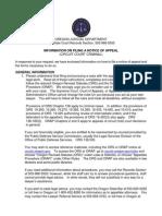 Criminal Oregon notice of appeal