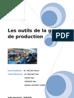 groupe n°24 - les outils de la gestion de production