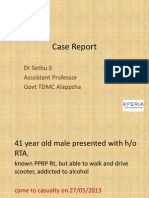 Heterotopic Ossification Case