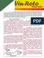 Vinodrai Newsletter August 2009 Vol 1