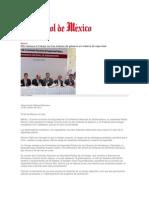 16-10-2013 El Sol de México - RMV destaca el trabajo los tres órdenes de gobierno en materia de seguridad