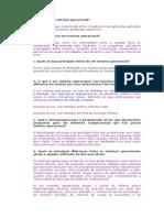 Questionário de Introdução aos Sistemas Operacionais