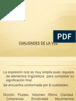 Diapositivas de La Voz