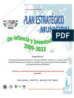 Plan Estratégico de Infancia y Juventud 2009-2023