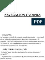 Navegación y  VOR-ILS