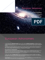 european astronomy celsei