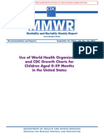 Child Growth Standards Rr5909