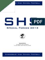 Special Teams Manual 2013