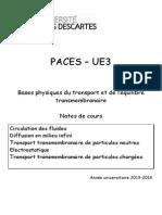 Paces Ue3 Physique 2013 p
