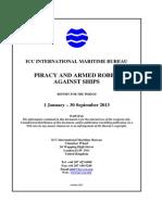 2013 Q3 IMB Piracy Report