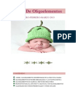 Boletín De Oligoelementos 1º Trim. 2013