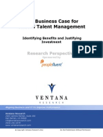The Business Case for Unified Talent Management