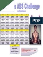 Valentin Bosioc Challenge