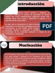 Aspectos Importantes de Nucleacion