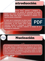 Aspectos Importantes de Nucleacion