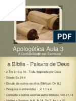 EBDF Aula03 Apologetica C