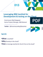 2 Leveraging IBM JazzHub for Development Testing on the Cloud