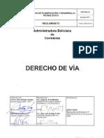 Reglamento Derecho de via Gpd-re-01